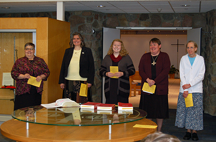 God Bless Our New Novices - Krista, Marena, Mary Ruth - Oct. 14