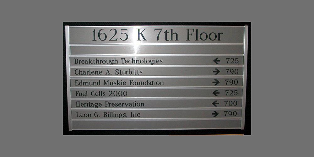 Hallway Directory