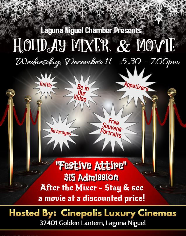 Holiday Mixer & Movie