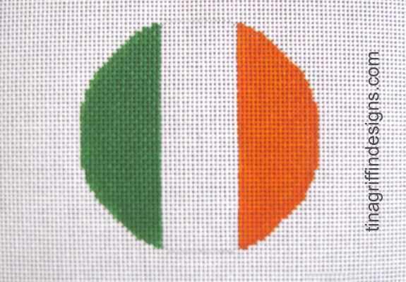 Ireland Luggage Tag