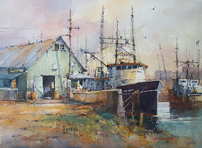 North West Dock by Ian Ramsey