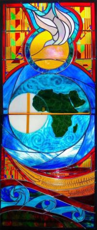 Felician Sister Creates Stained Glass for Ghana
