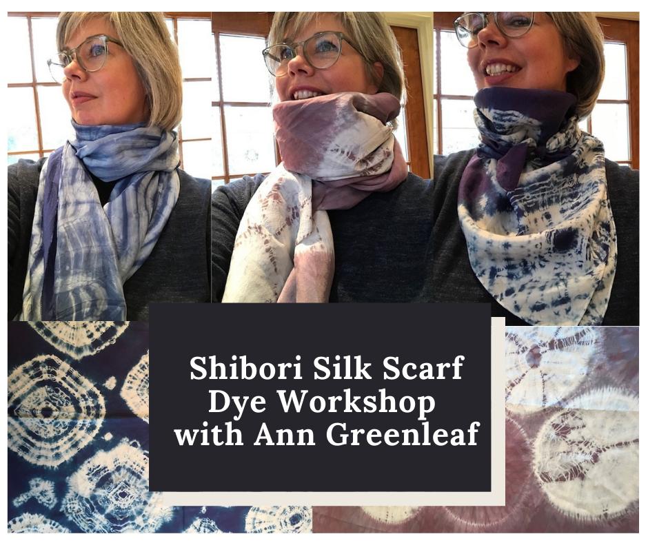 Shibori Dyeing - Scarf Workshop