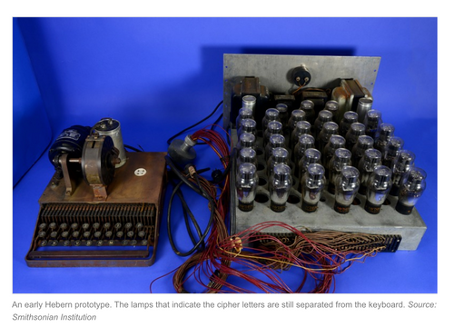 Smithsonian publishes beautiful pictures of rare Hebern encryption machines