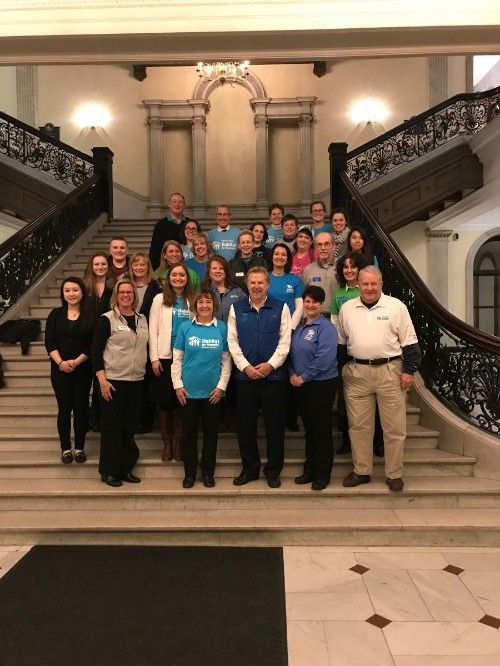 MA Habitats visit the State House