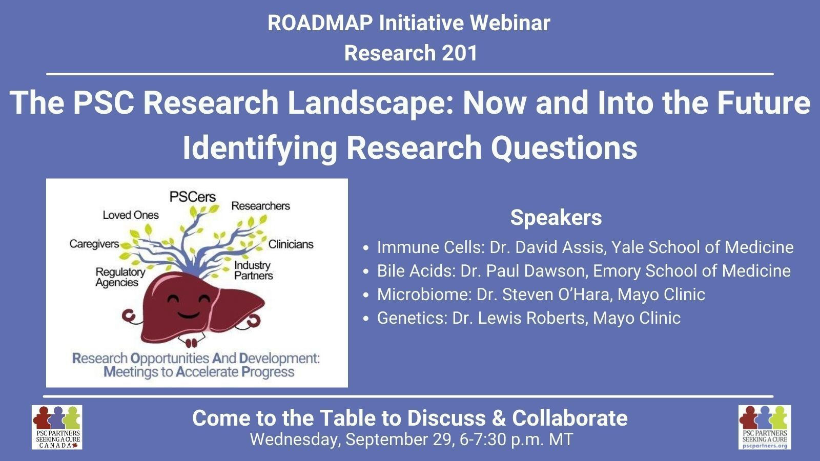 ROADMAP Research 201 - The PSC Research Landscape: Now and Into the Future -- Identifying Research Questions