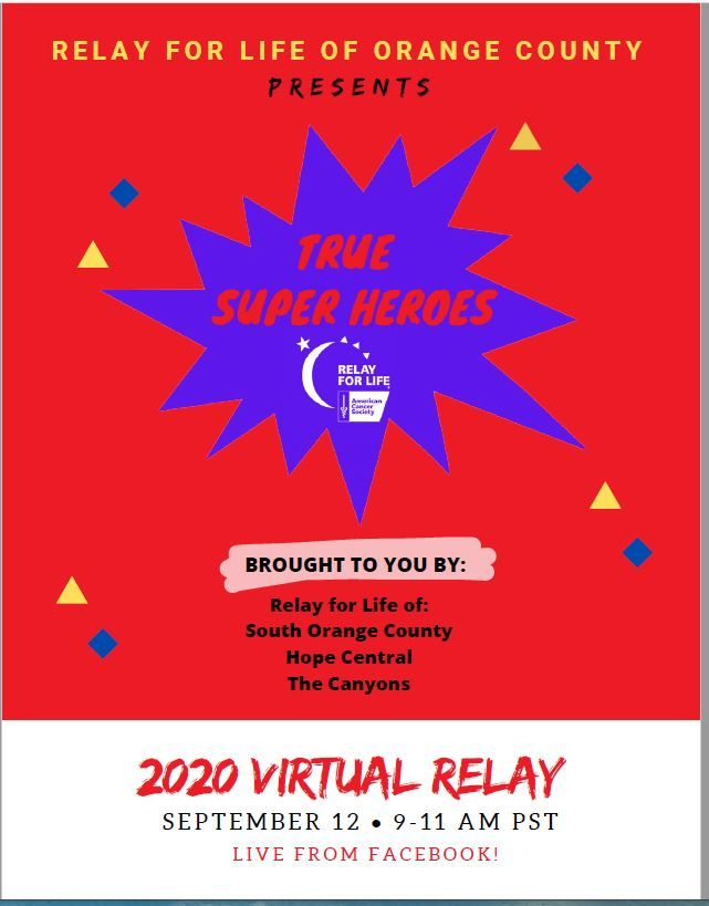2020 Virtual Relay For Life