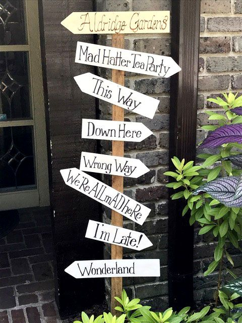 Mad Hatter's Fairy Garden Tea Party