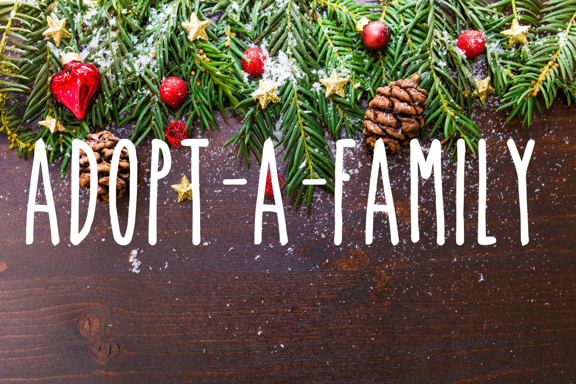 Adopt-A-Family for the 2018 Holiday Season!