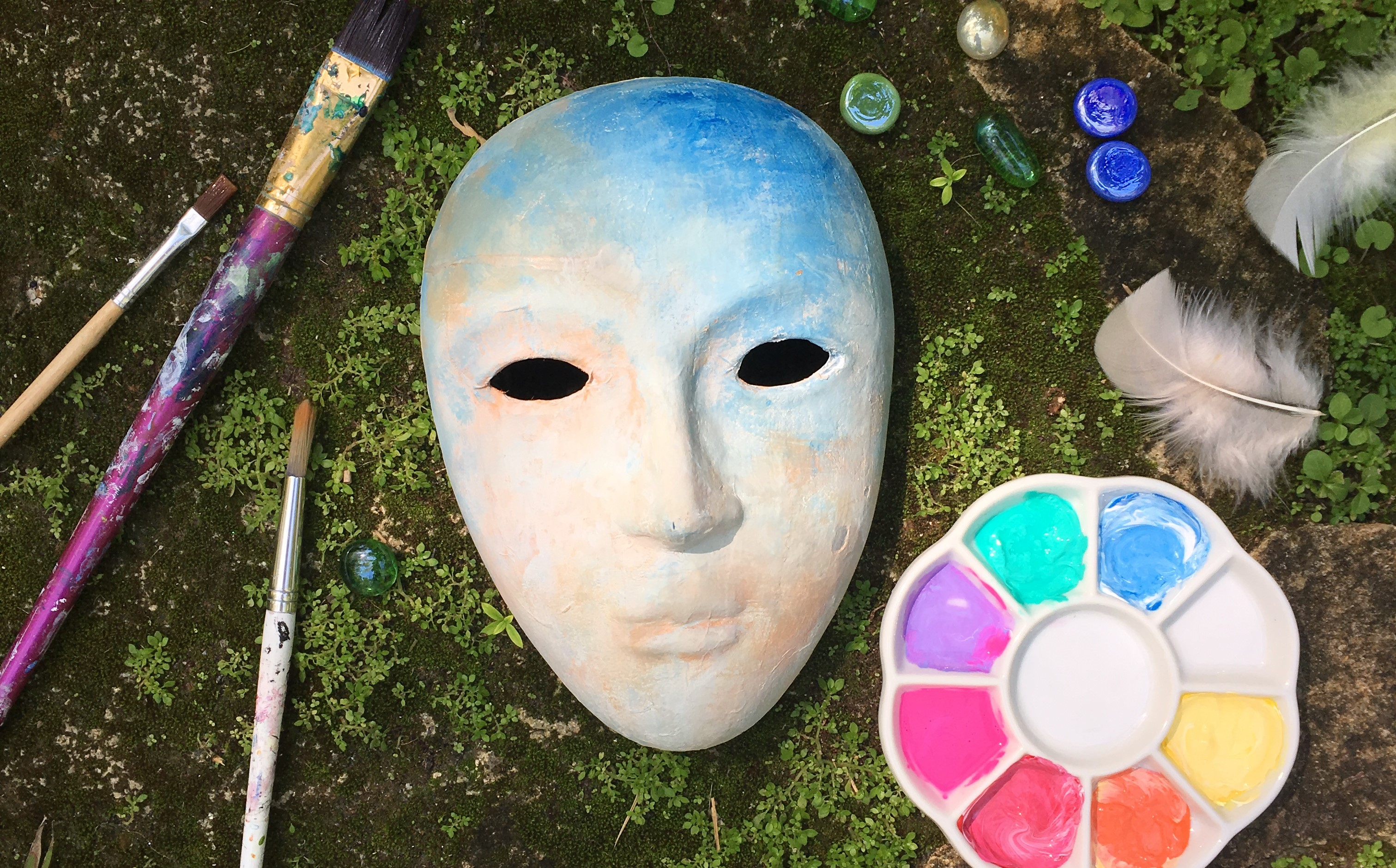Art of Healing:  Mask Making