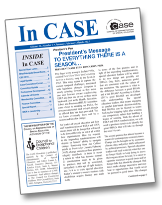 CASE Newsletter