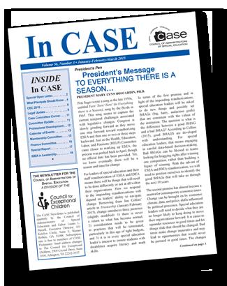 CASE Newsletter