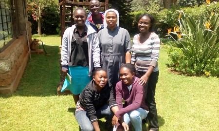 Sr. Judy's Students in Social Program
