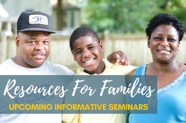 Presentations & Seminars for Families