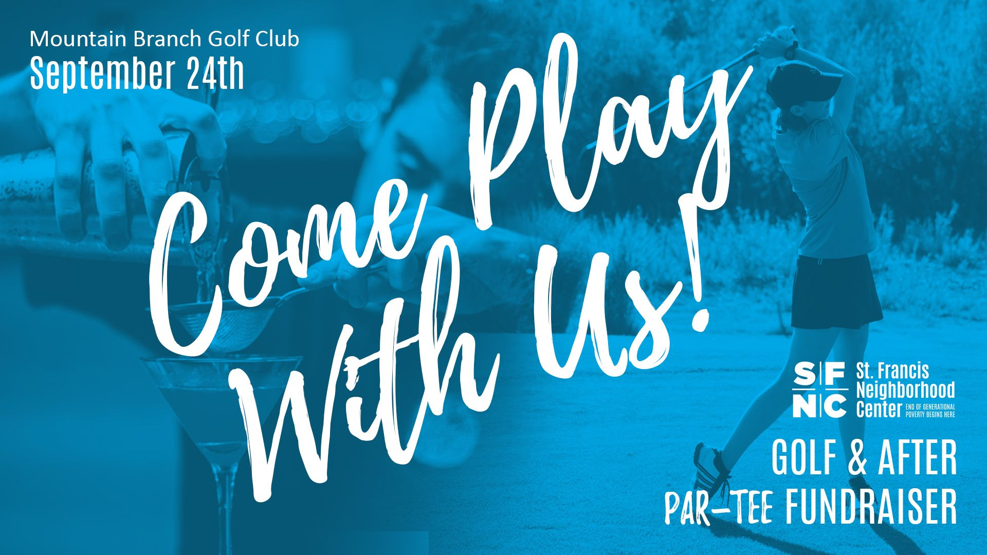 Come Play With Us! Golf & After Par-tee Fundraiser