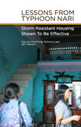 Lessons from Typhoon Nari: Storm Resistant Housing Shown To Be Effective