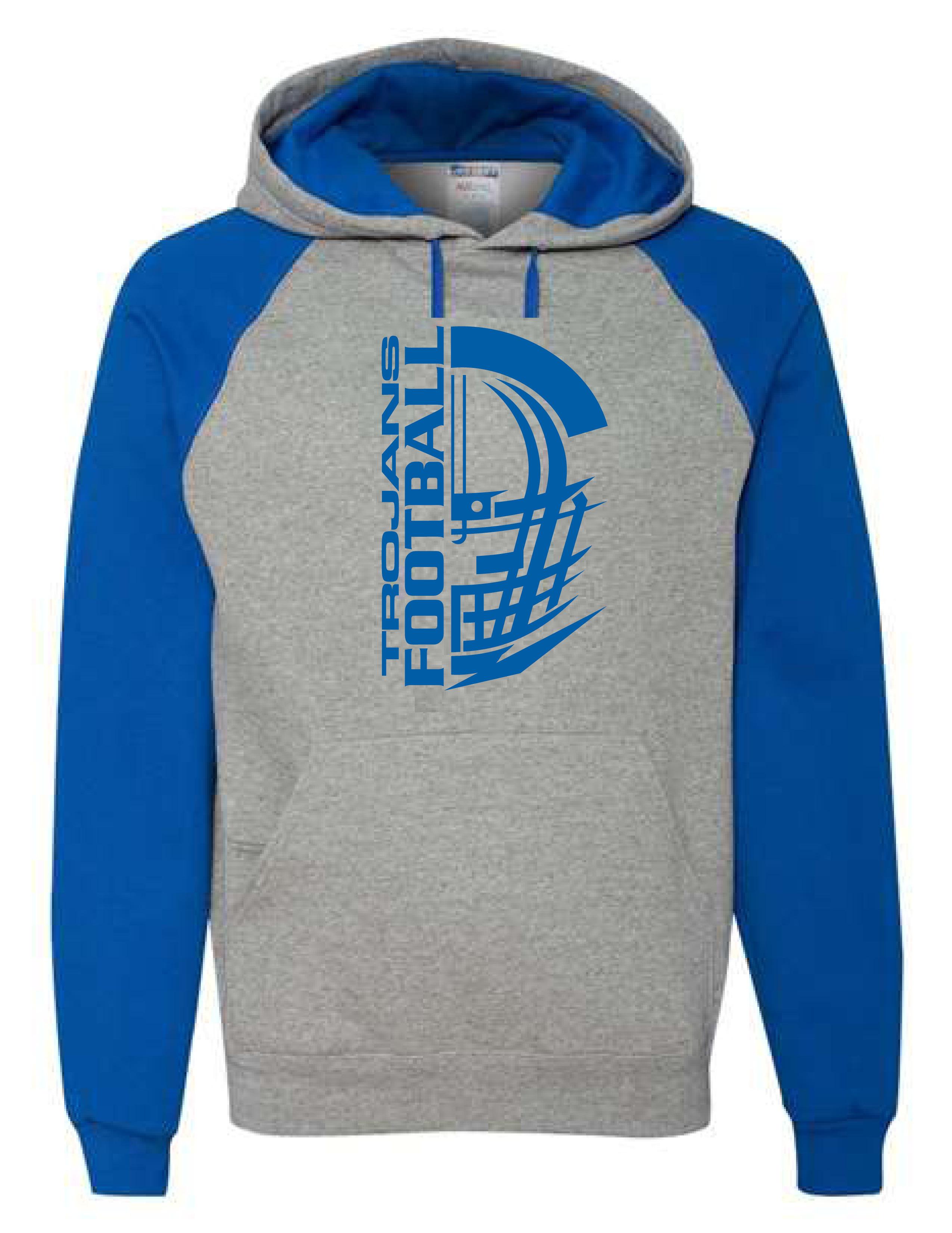 Colorblocked Hooded Sweatshirt (HELMET)