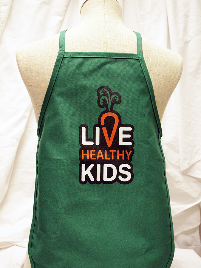 Live Healthy Kids Apron