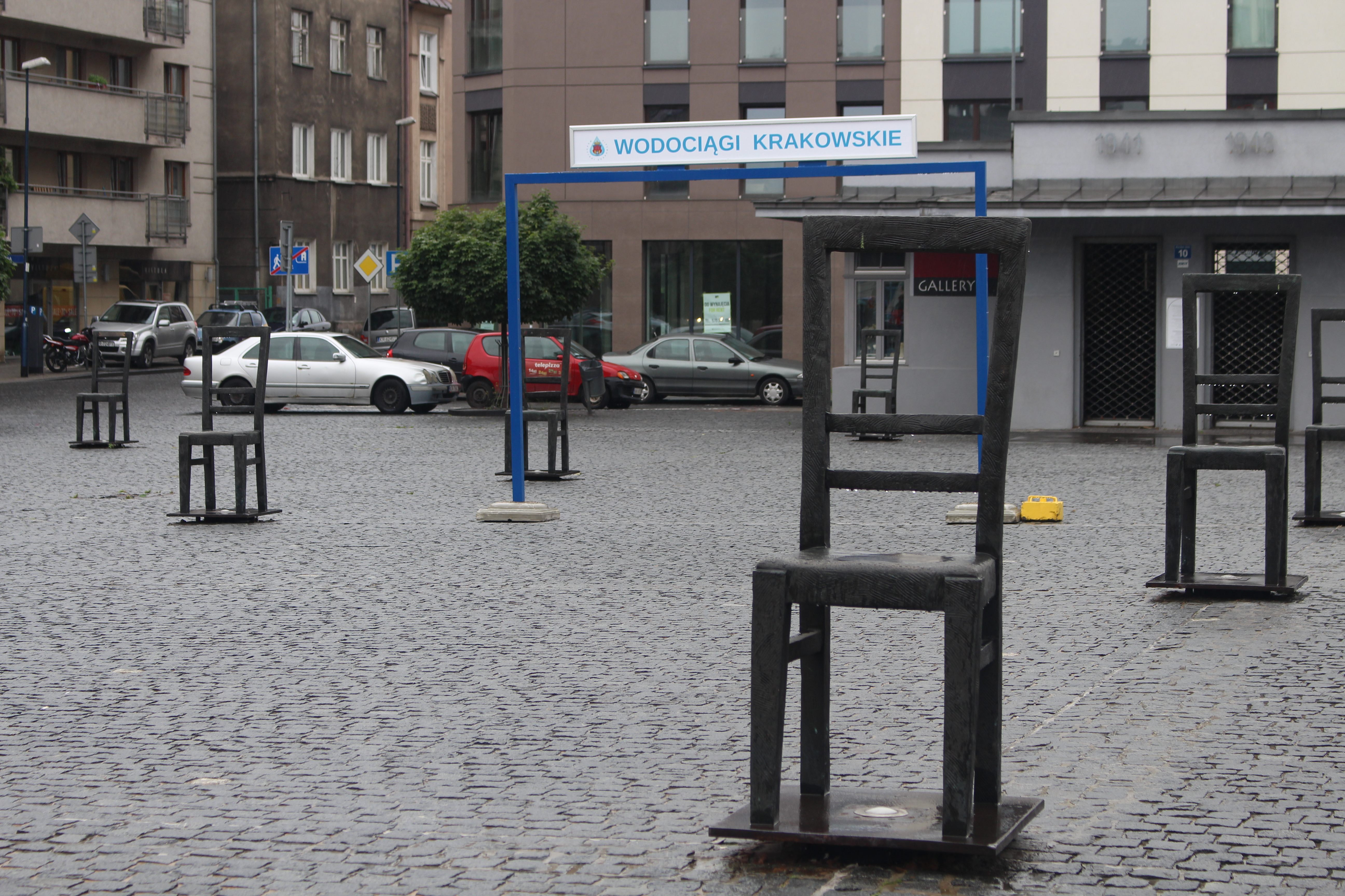 Plac Bohaterow Getta Square