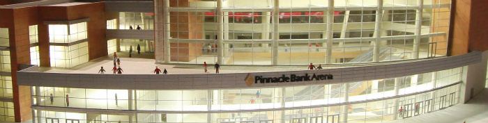 Pinnacle Bank Arena entrance