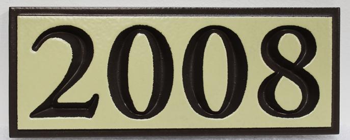 I18907 - Engraved Address Number Sugn