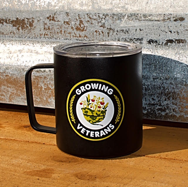 Growing Veterans Campers Mug
