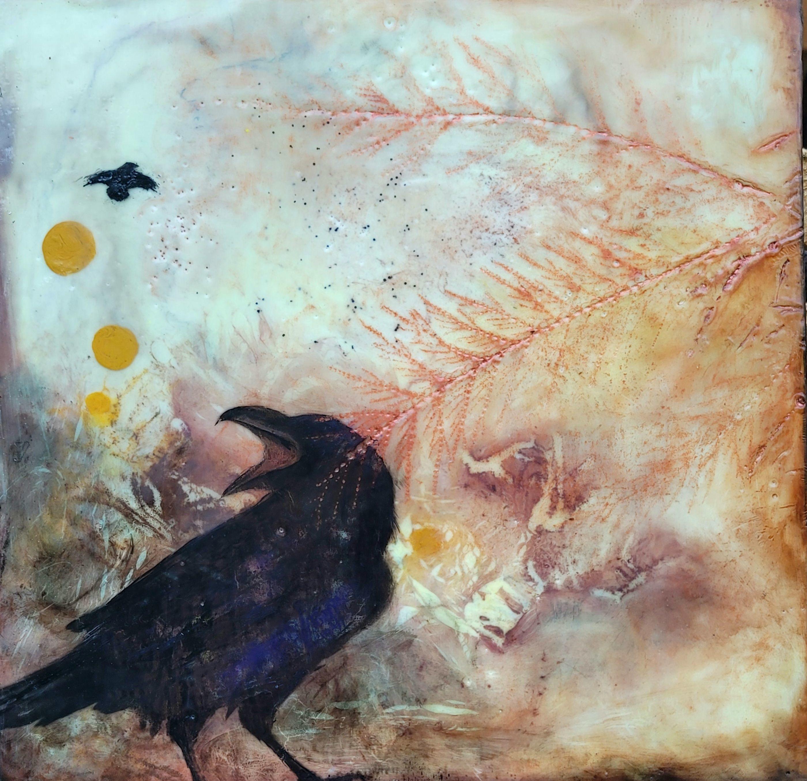 "Laurel Shepard Kvale - ""Raven Time"""