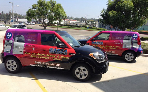 Fleet Vehicle Wraps Great for Delivery Vehicles!