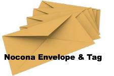 Nocona Envelope & Tag
