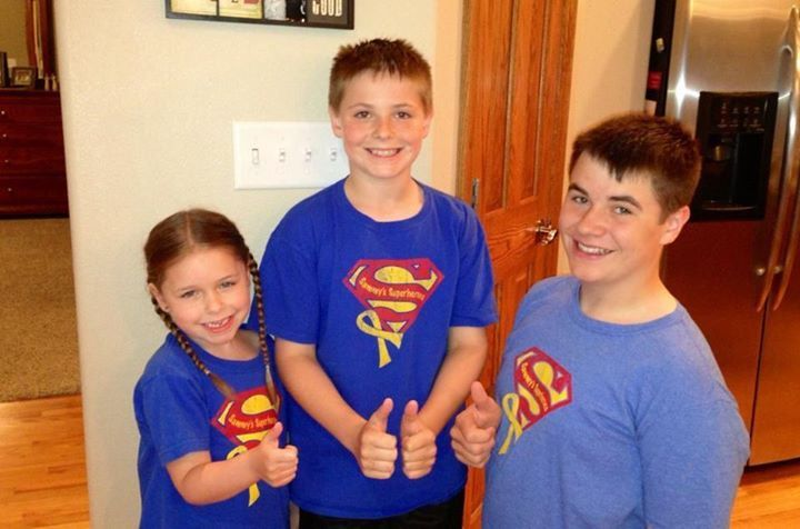 Thumbs up from the Tessendorf kiddos!