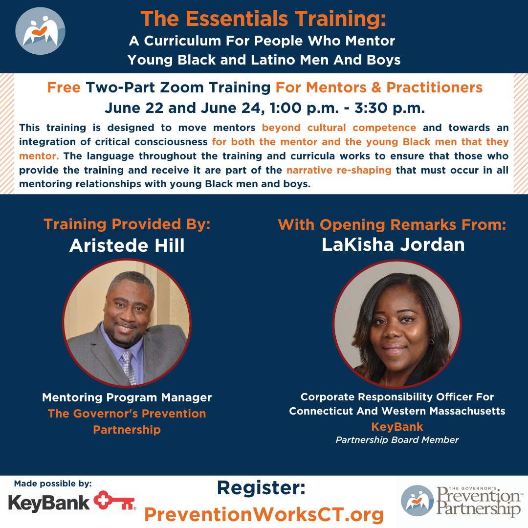The Essentials Training: A Curriculum for People Who Mentor Black and Latino Young Men & Boys