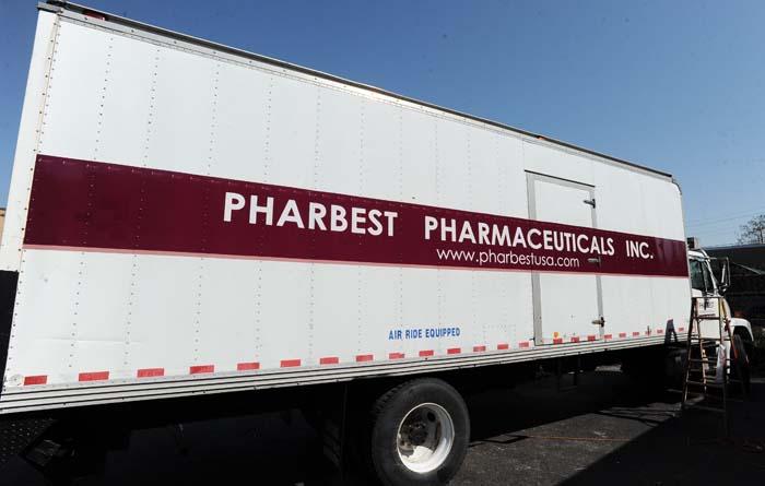 Pharbest Pharmaceuticals Truck