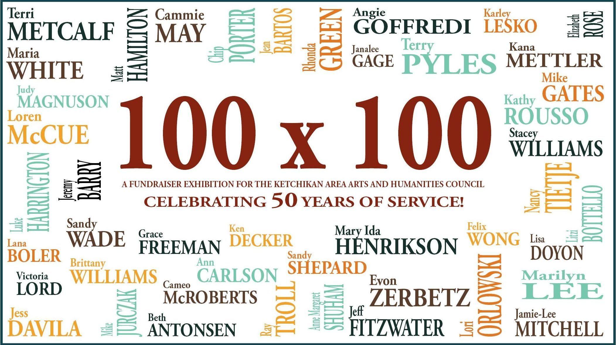 Celebrating 50 Years 100X100 Exhibit 2.0