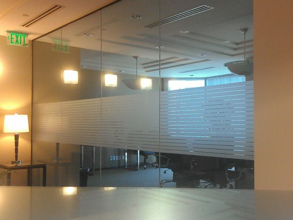 Vinyl Frosted Glass