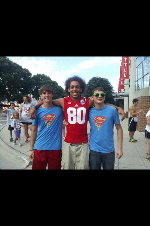 No big deal... These Superheroes are just hanging out with Kenny Bell at the Uplifting Athletes 5k today... ;)  Ummm.... Awesome!!!   Thank you Elaine Zoucha for sending this super cool pic!!