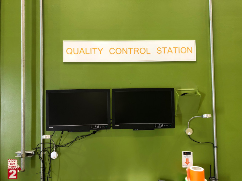 Warehouse Quality Control Signs | Southern California