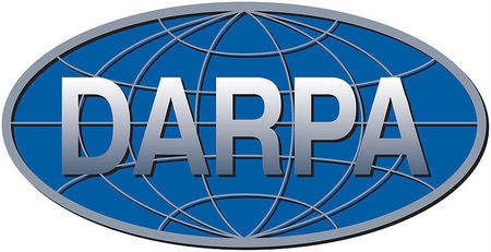 IP-1790 -  Carved Plaque of the Seal of the Defense Advanced Research Projects Agency (DARPA),  Artist Painted