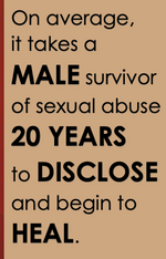 Male Victim Posters (English & Spanish Available)