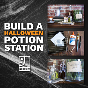 halloween diy how to build your own potion station