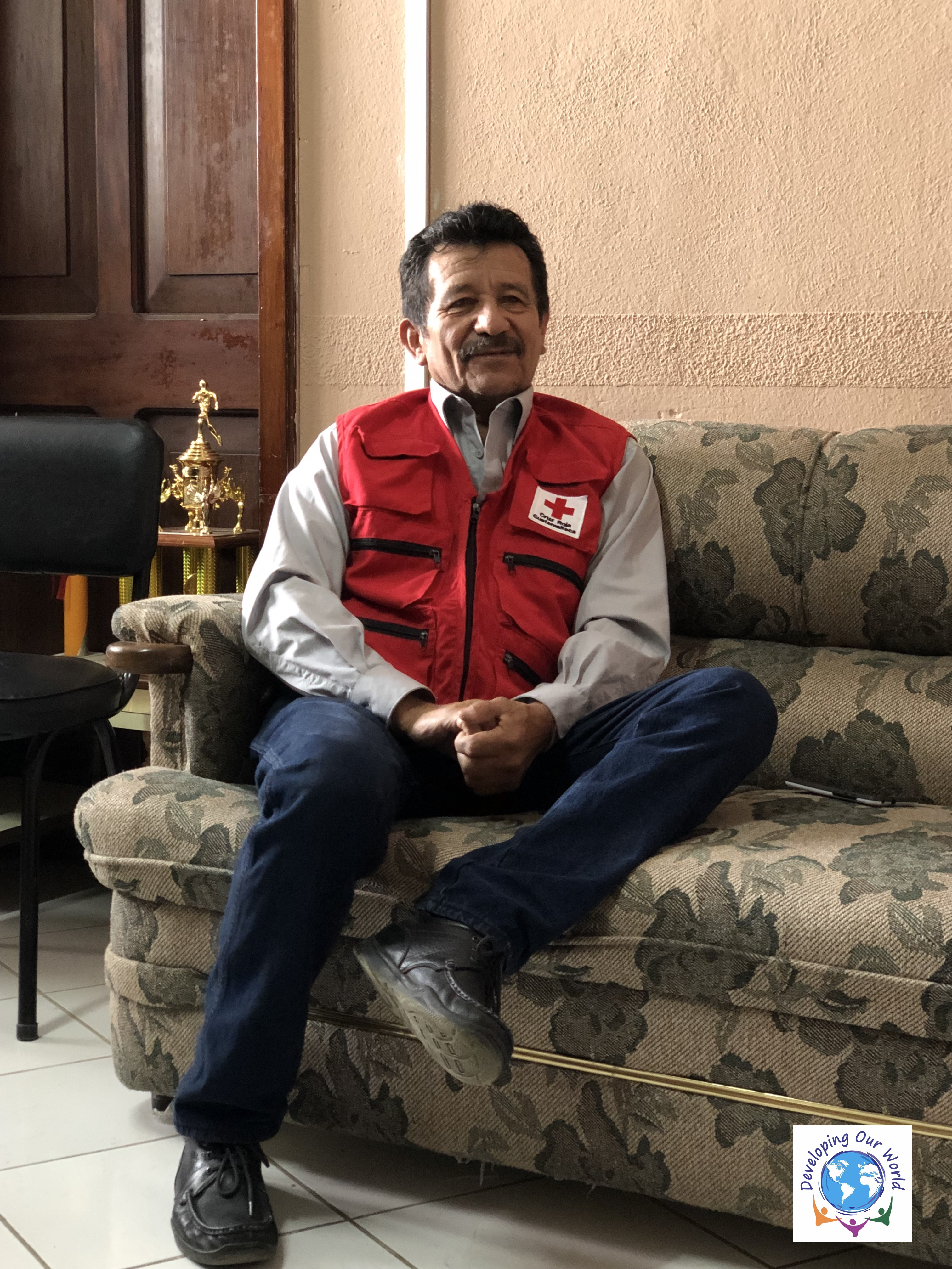 Dennis Wellmann, the Red Cross 's Director and one of the founders of Choval EW