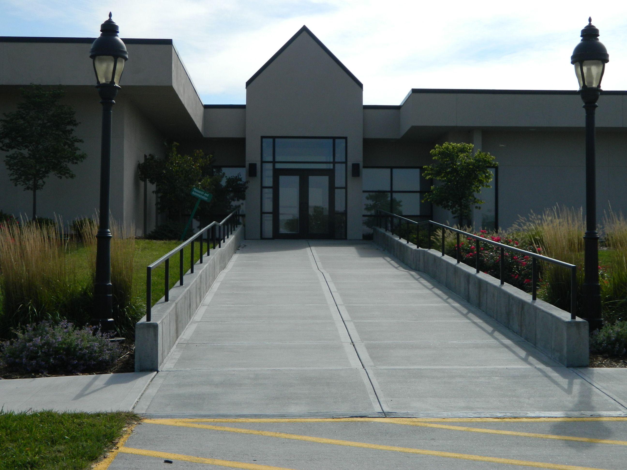 Reynolds Building Primary Entrance