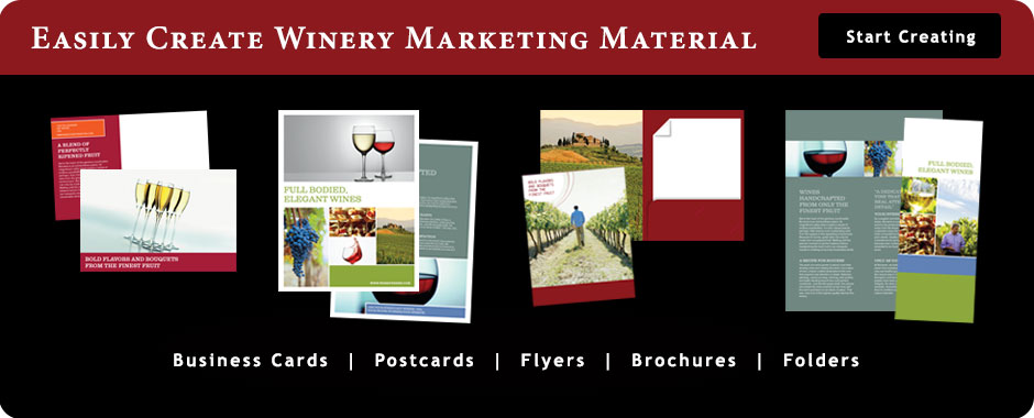 Winery Banner