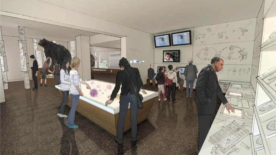 Morrill Hall 4th floor renovation architect approved