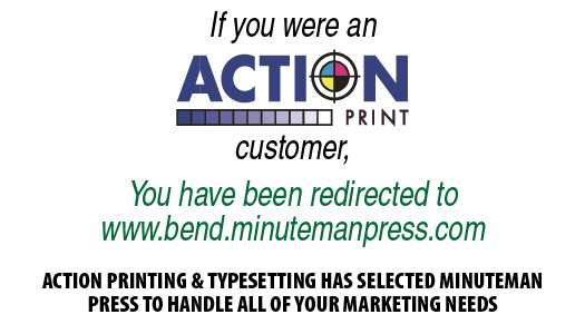 Minuteman Press Printing Copying Bend Or 97702