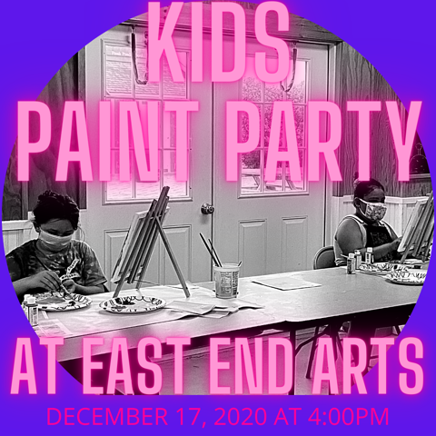 Kids Holiday Paint Party