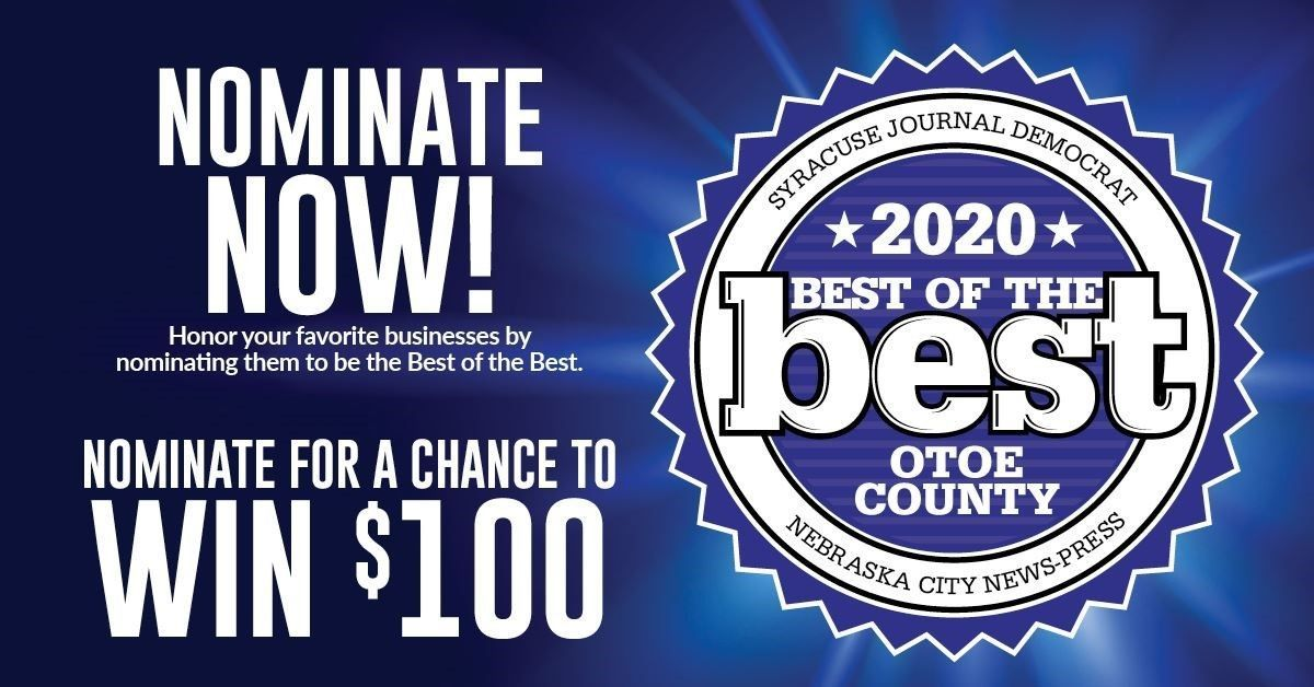 Nominate Tabitha for Best of Otoe County