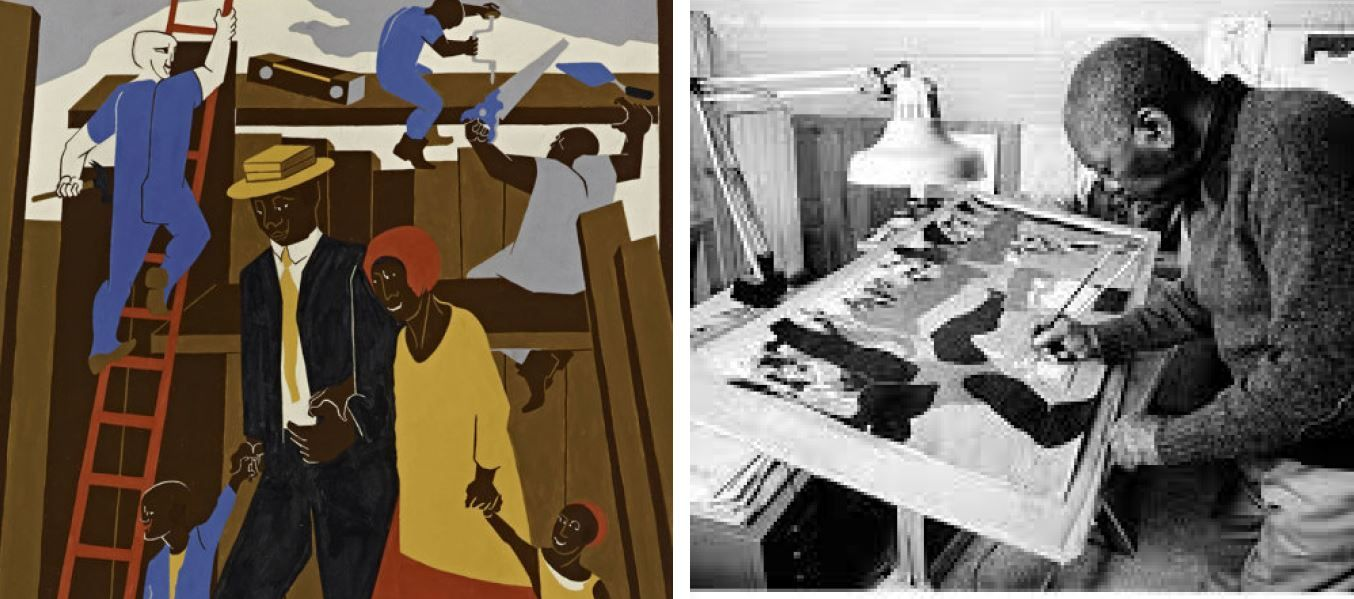 """The Great Migration: Jacob Lawrence's """"The Migration Series"""""""