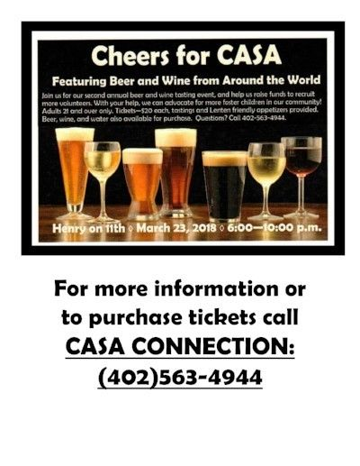 Cheers for CASA event