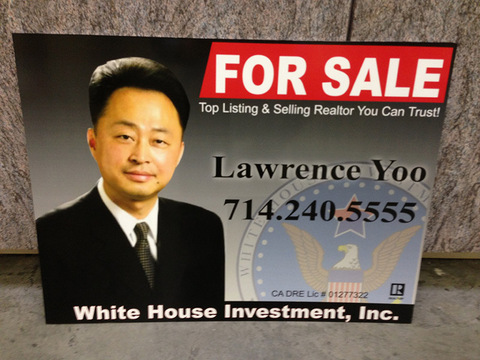 Best real estate signs Fullerton CA
