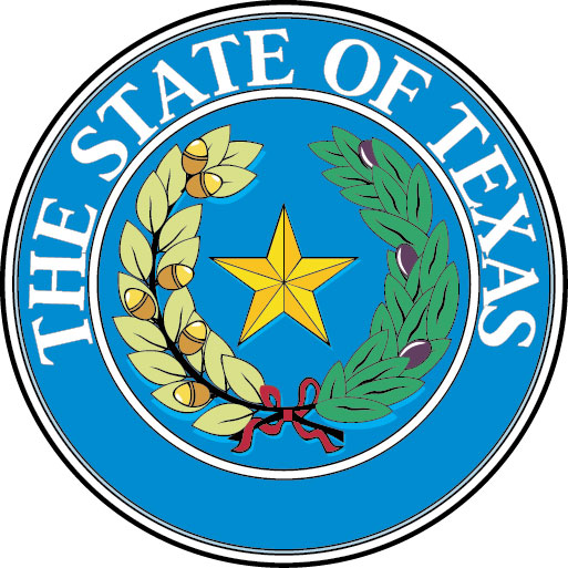 W32478 - Great Seal of Texas Wall  Plaque